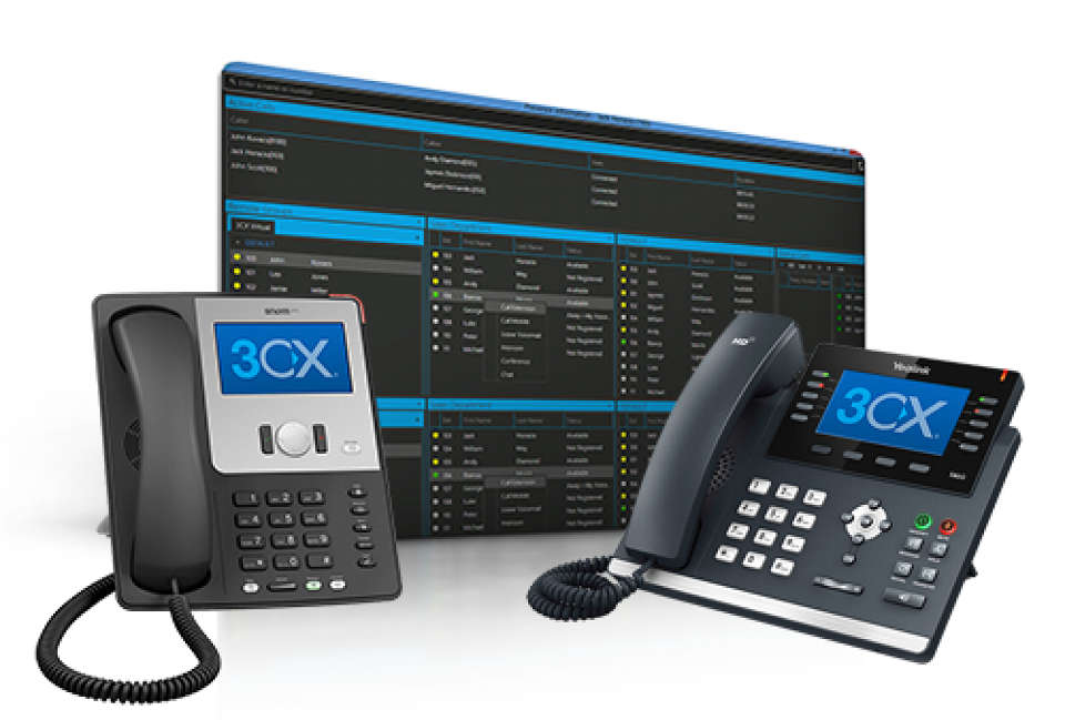 3CX phone system | SIP Phones | | BigOhio | Voice | Video | Data